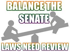 Balance the Senate
