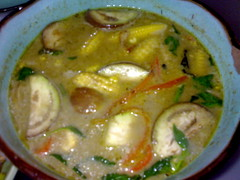Chicken in green curry - Oodys