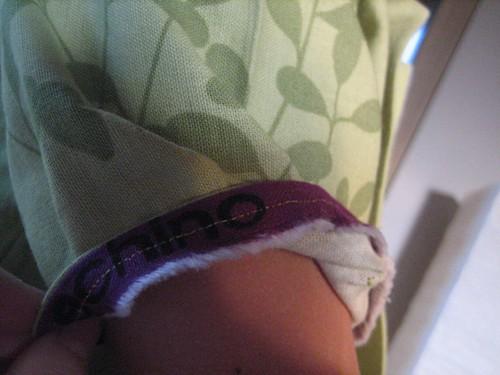 echinoshirt selvedge facing