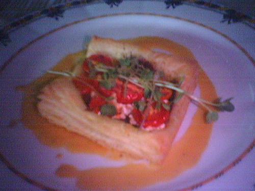 Cherry Tomato Tart