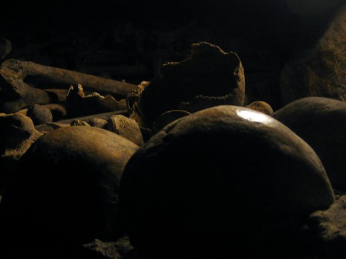 Les Catacombes...my mind has spent so much time here.