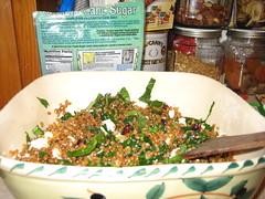 Wheatberry Salad, the finale