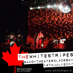 The White Stripes - Savoy Theater / Glace Bay - Bootleg Cover Art