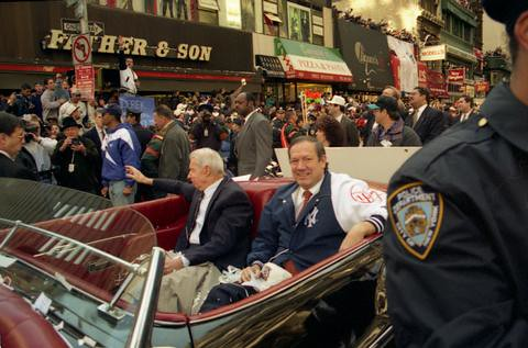 yankees parade 1996