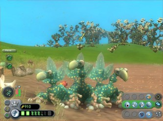 Three dodo's from Spore
