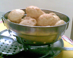 Puris for Pani Puri