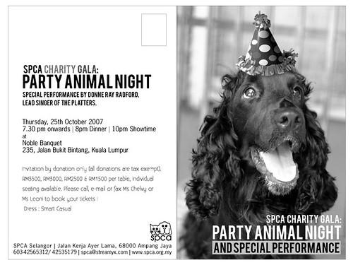 Party Animal Night