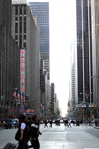 Radio City Music Hall on Avenue of the Americas (6th Ave), New York City