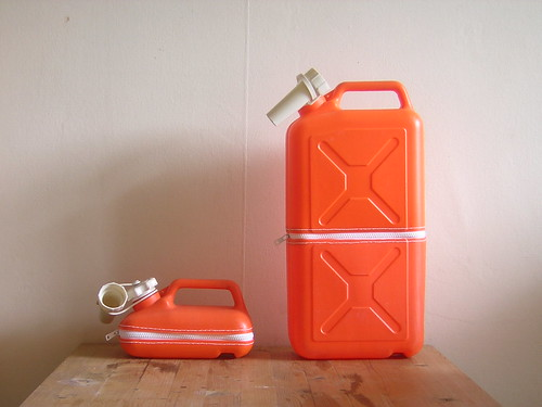oranje/wit omgedraaid aan elkaar heel