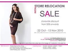 Baby Bump Maternity Store Relocation SALE