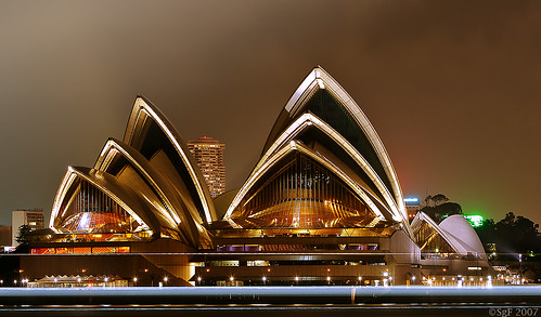 Sydneys Oper bei Nacht, Australien