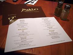 Dinner @ Pablo's