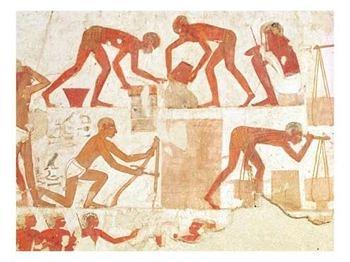 esclavos semitas