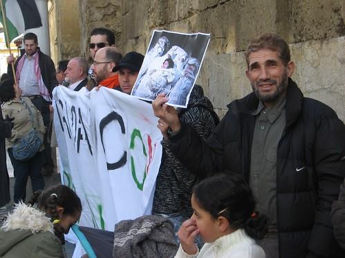 Cadena Humana Apoyo Palestina Puerta Principal Mezquita
