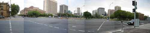 Adelaide City in Panorama