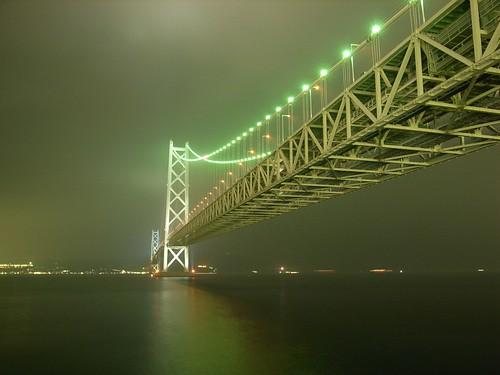 明石海峡大橋 Akashi Kaikyo O-hashi by kamoda.