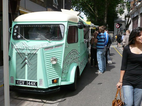 Burrito Truck Whitecross Street London