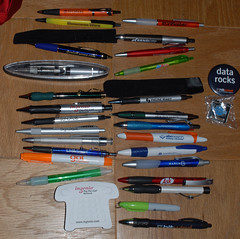 SES San Jose 2007 Schwag: Pens and other trinkets