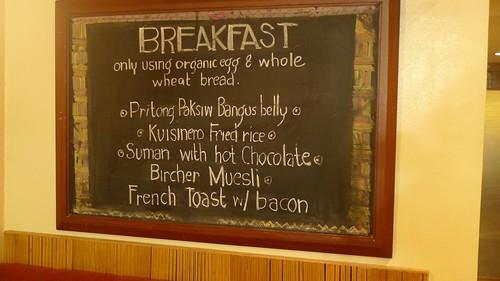 Sentro 1771 - breakfast