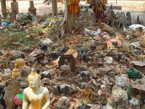 buddha graveyard