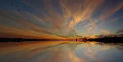 Prairie Sunsets (superpanorama flooded)