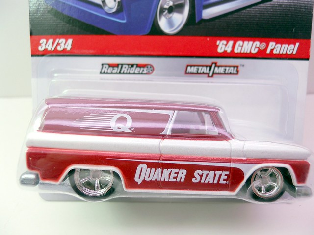 HOT WHEELS DELIVERY '64 GMC PANEL (2)