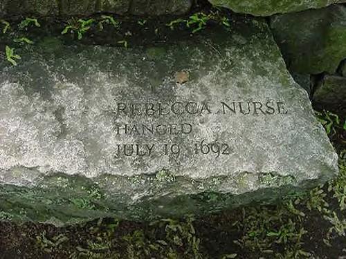 Rebecca Nurse stone