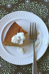Honey Cake, half eaten 1