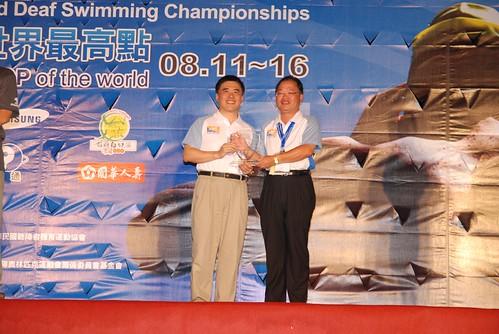 2007聽障游泳錦標賽-閉幕典禮-�華台北