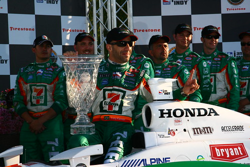 Tony Kanaan and De Ferran out of Indycar