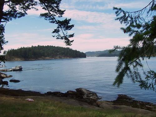 on Pilmore Point overlooking Julia Island