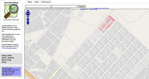 OpenStreetMap of Baghdad