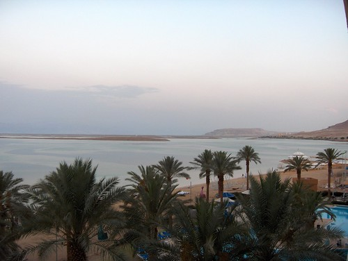 Looking towards the southern tip of  Dead Sea