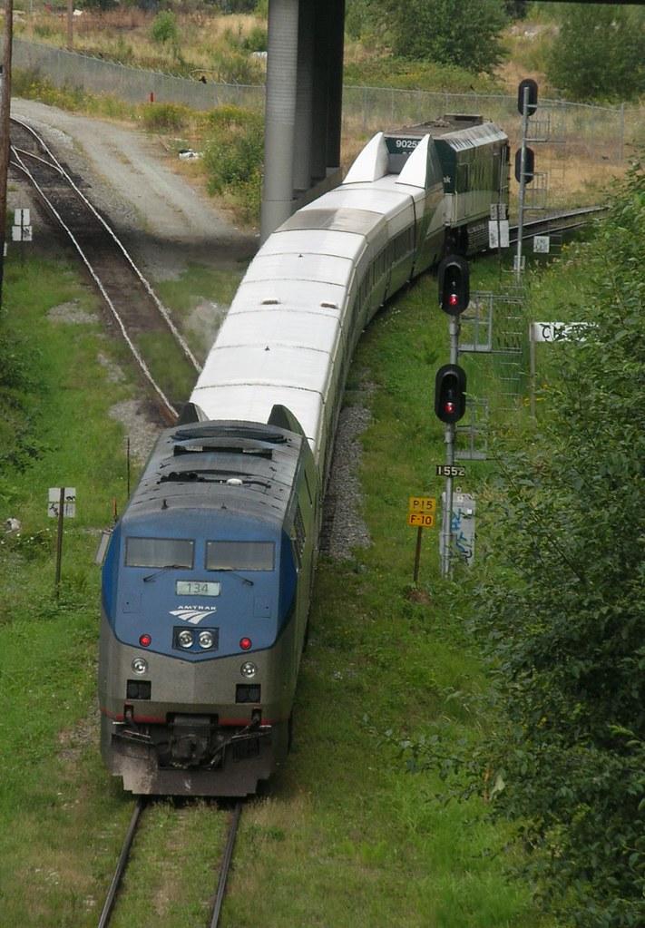 Amtrak 134 Cascades Vancouver BC 2006_0731