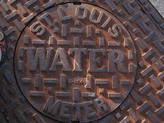 a sewer cap from st louis, mo