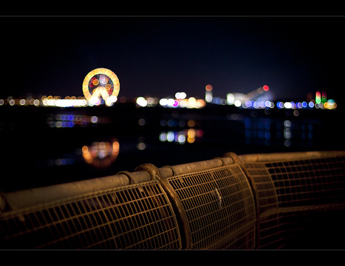 Blackpool piers by Ianmoran1970
