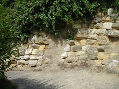 Sandstone walls at White Rock Gardens *1