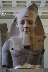 Statue of Ramesses II at the British Museum