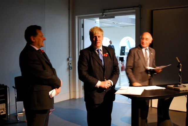 Boris Johnson at Ravensbourne
