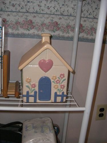 House cookie jar