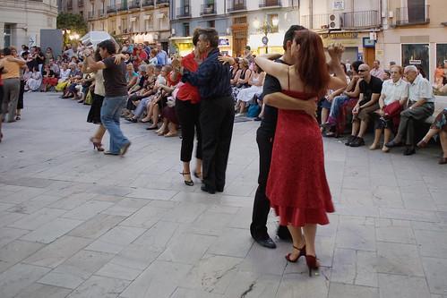 Tangos en la Calle don Jaime (color)