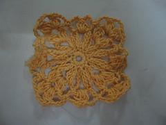 Crochet Square Motif1 - 2 Original Color