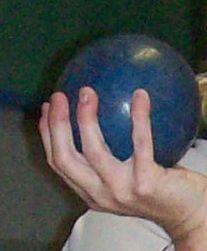 CandlePin Bowling Ball