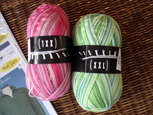 new sock yarn stash 2-8-2009 10-20-05 AM