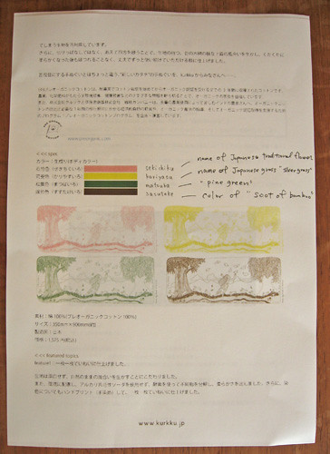 10-25-10-Japan-Harajuku-Kurkku-tenugui information sheet.jpg