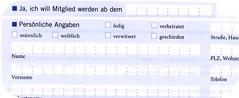 Beispiel Formular
