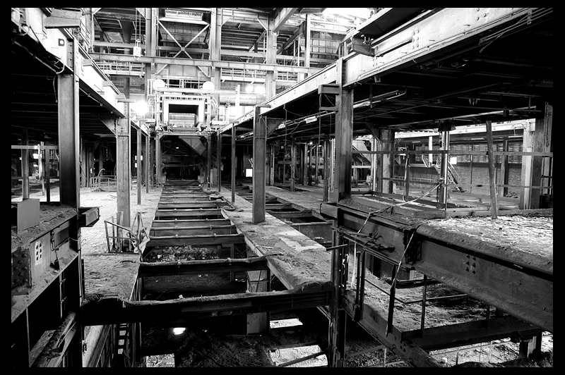 urbex urban exploration decay abandoned infiltration Germany Deutschland sintering plant sinteranlage