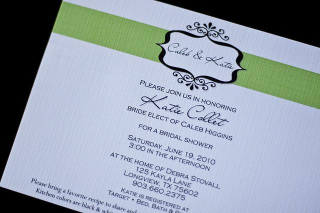 {DFW Photographer} Custom Invitations