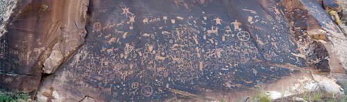 newspaper rock panorama