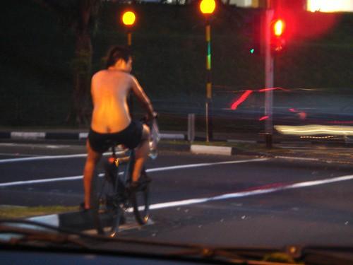 Buttcrack Cyclist @ Pine Grove - 3